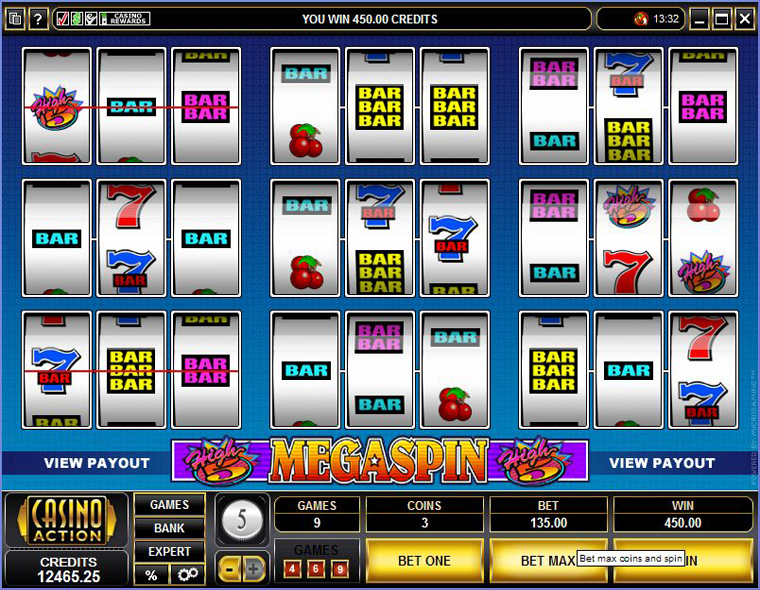 MegaSpin – High 5s Slot